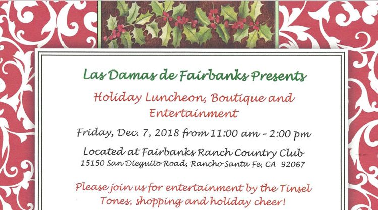 Holiday Luncheon, Boutique & Entertainment